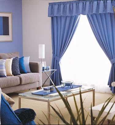 Increibles cortinas per decoraciones textil hogar lima for Salas clasicas modernas