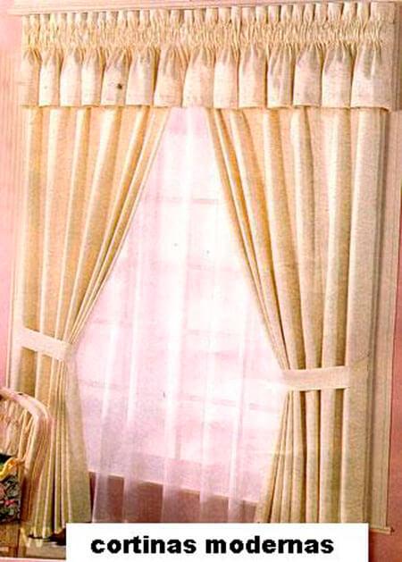Increibles cortinas per decoraciones textil hogar lima for Cortinas de tela modernas