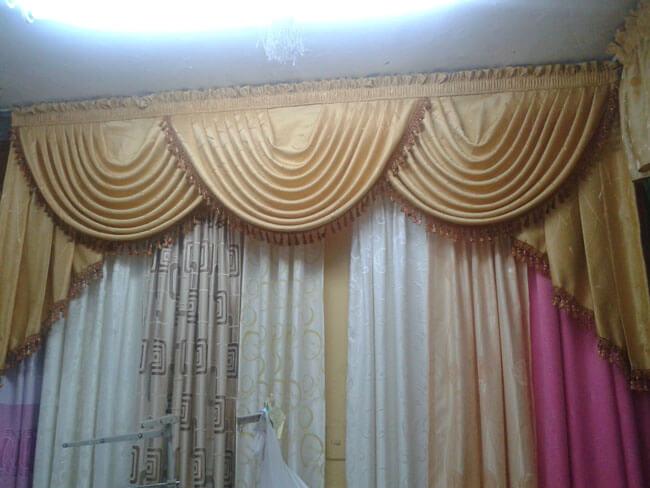 Increibles cortinas per decoraciones textil hogar lima for Cortinas para salas modernas 2016