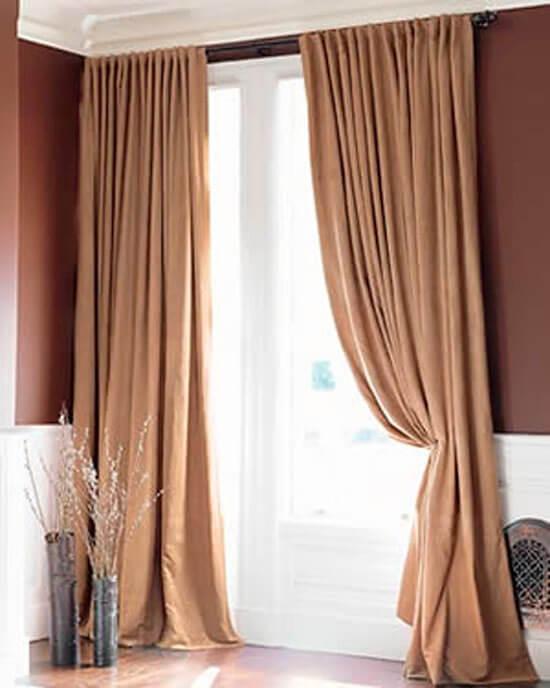 Increibles cortinas per decoraciones textil hogar lima for Cortinas de argollas