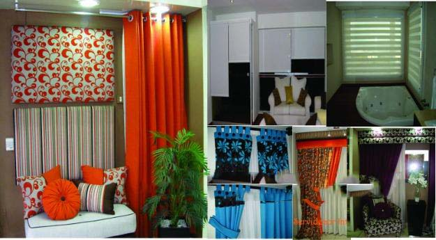 Exclusivo lavado de estores decoraciones textil hogar for Cortinas con argollas