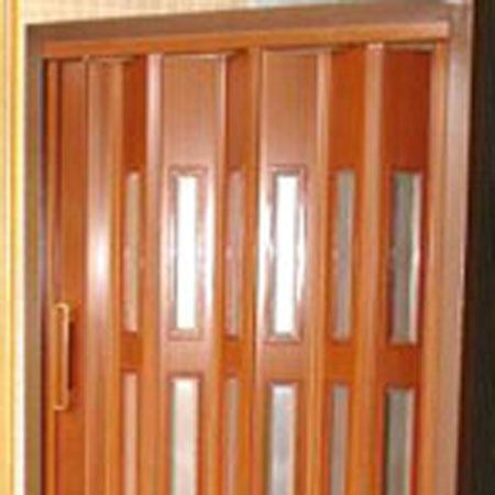 Novedosas puertas plegables cubrir espacio lima peru - Puerta plegable madera ...