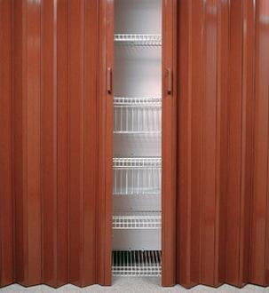 Novedosas puertas plegables puerta plegable lima peru for Puerta corrediza pvc